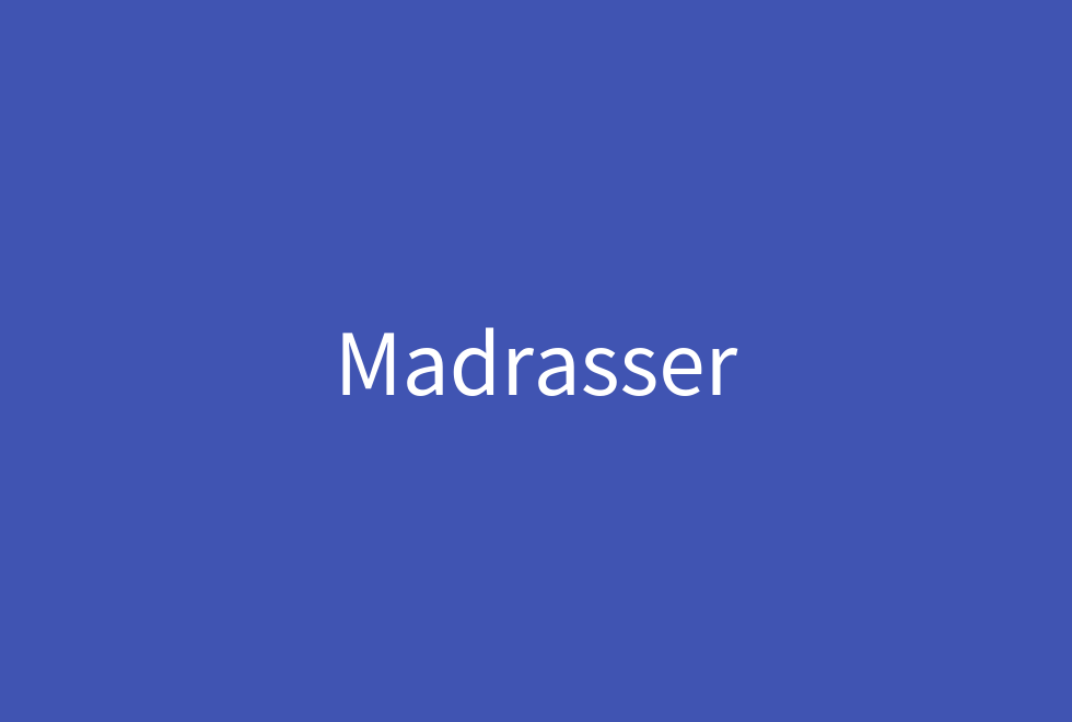 madrasser forside